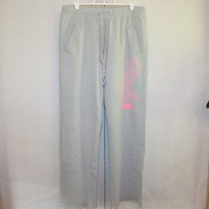 PINK Victorias Secret Womens Small Gray Sweatpants